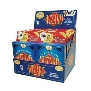 Wizard® Card Game 12-deck Display