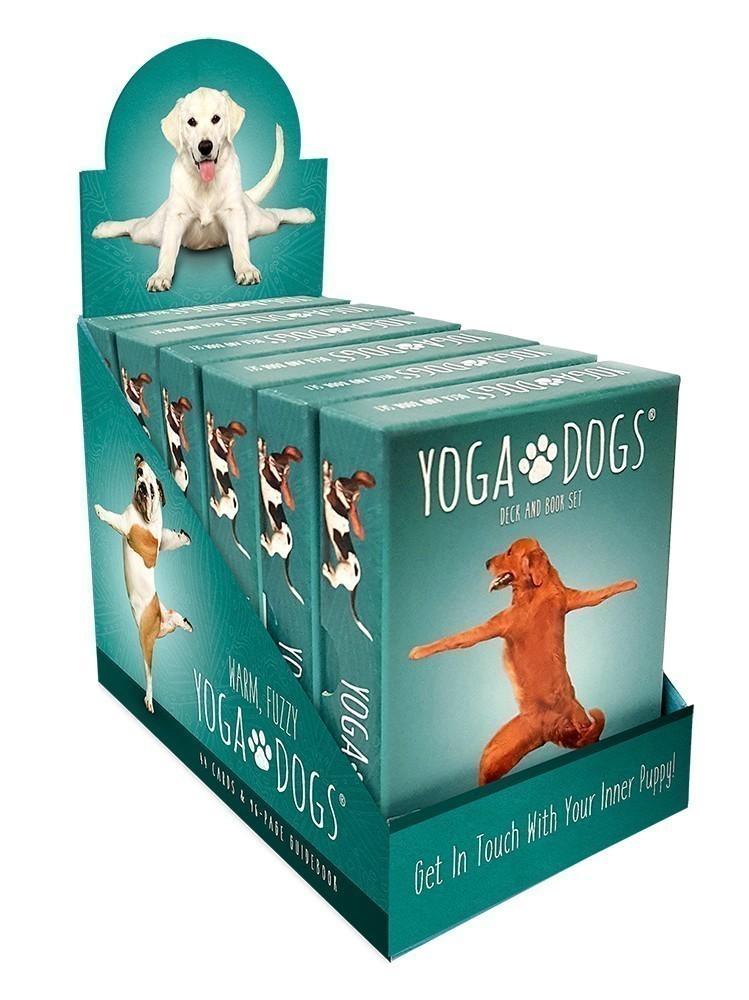 Yoga Dogs Display