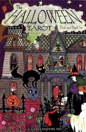 Halloween Tarot Deck/Book Set