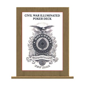 Civil War Illuminated Poker Deck