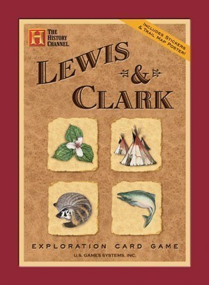 Lewis and Clark Exploration Card Games