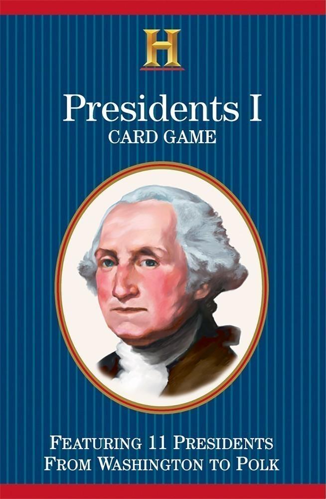 Presidents I Card Game (Washington to Polk)