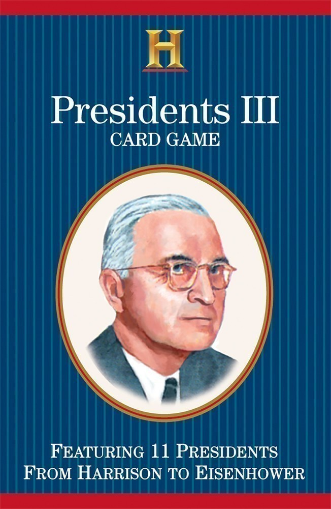 Presidents III Card Game (Harrison to Eisenhower)