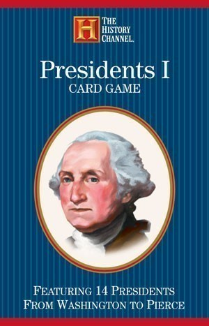 Presidents I Card Game (Washington to Polk)