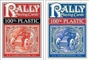 Poker Decks, 100% Plastic, Rally