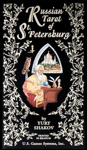 Russian Tarot of St. Petersburg  Deck