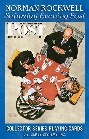 Norman Rockwell Saturday Evening Post Playing Cards