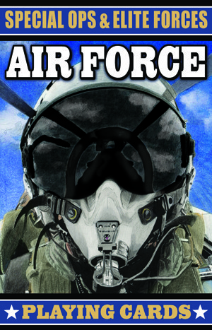 Special Ops & Elite Forces Air Force Playing Cards
