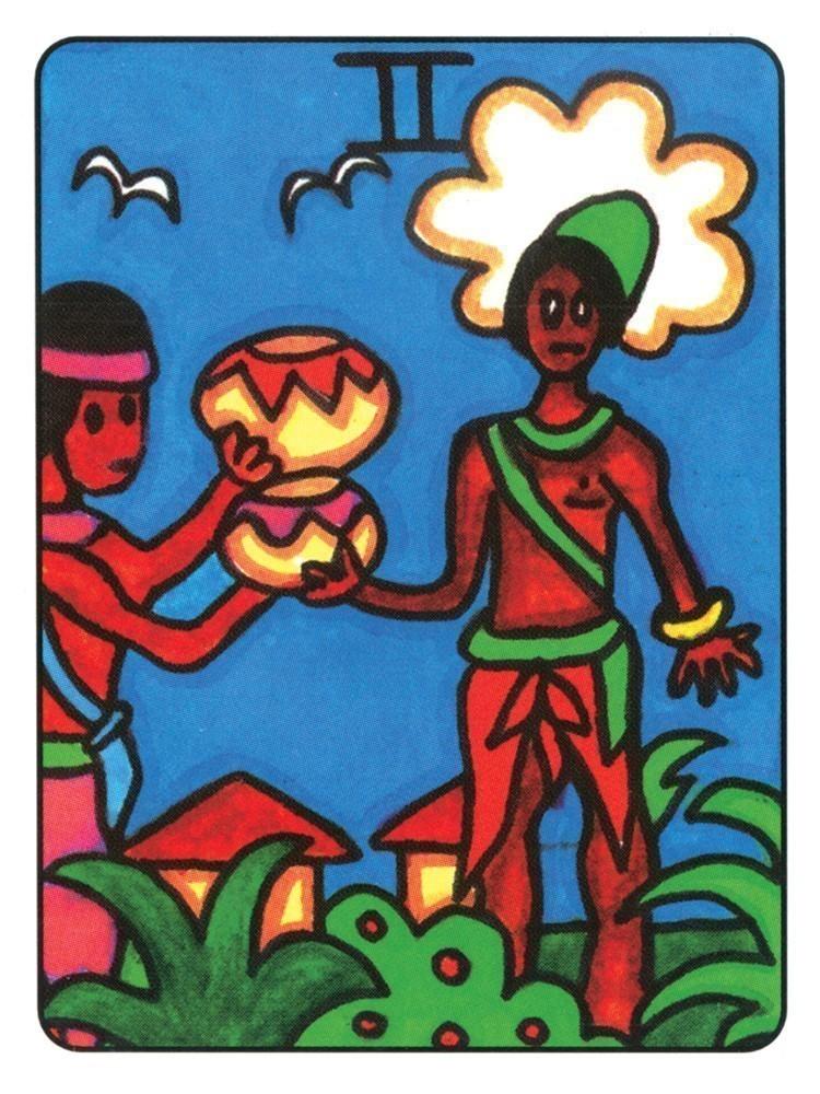 非洲人塔羅牌