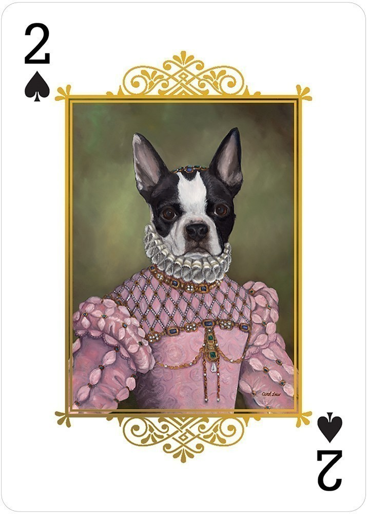 Animal Portraits Playing Card Deck