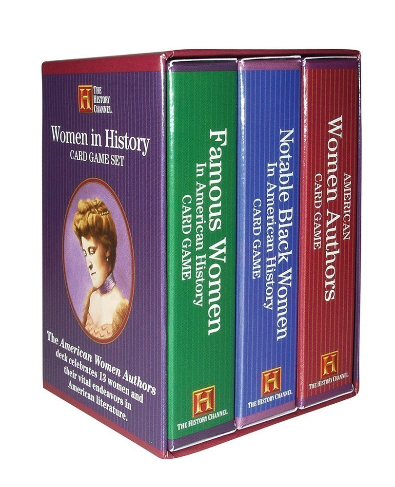 Women in History Card Game Set