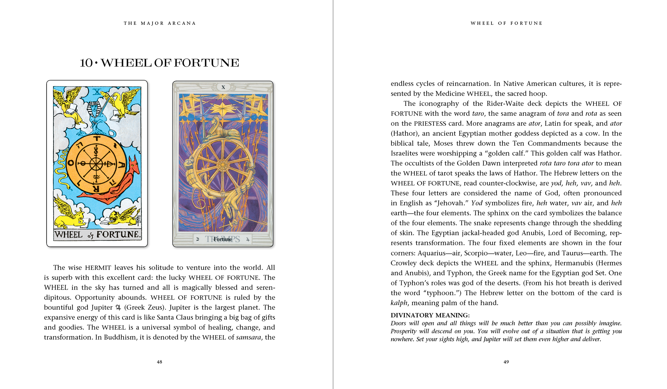 Introduction to Tarot Book
