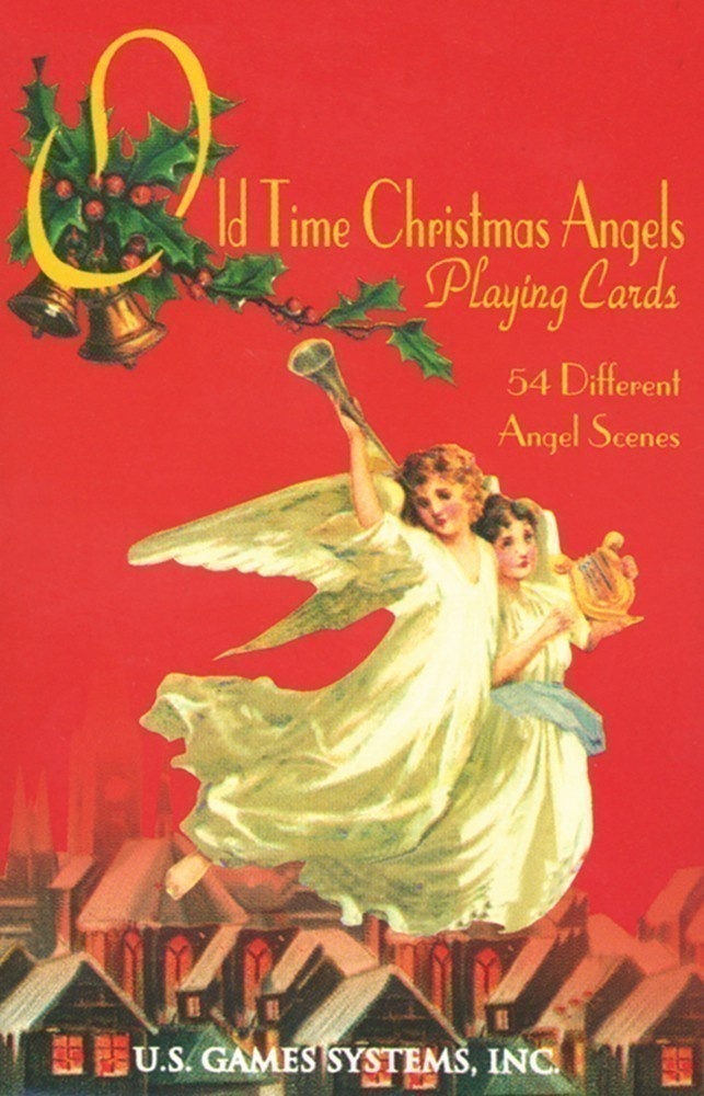 Old Time Christmas Angels Playing Card Deck