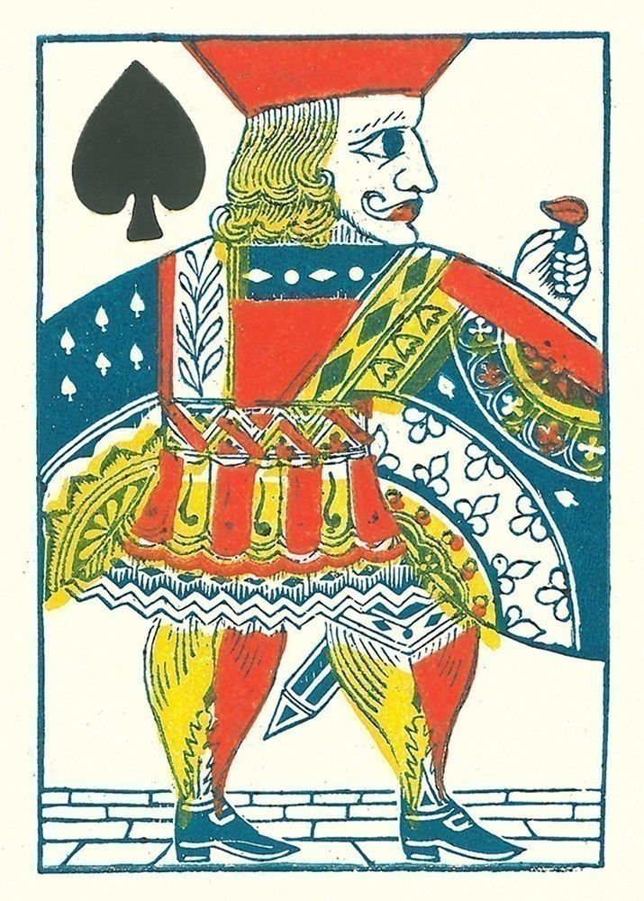 1863 Patent National Poker Deck