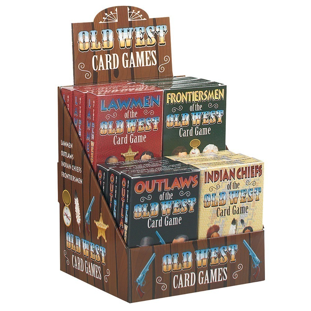OId West Card Game Display
