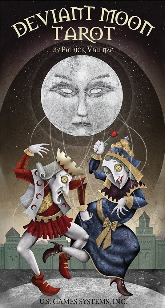 U S  Games Systems, Inc  > Tarot & Inspiration > Deviant Moon Tarot Deck