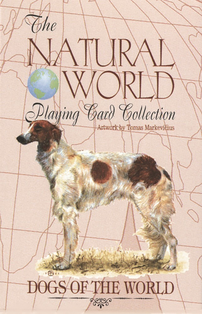 Dogs of the Natural World Playing Cards