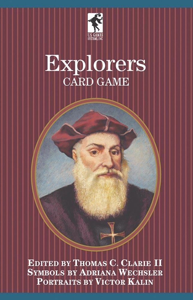 Explorers of the World Playing Cards