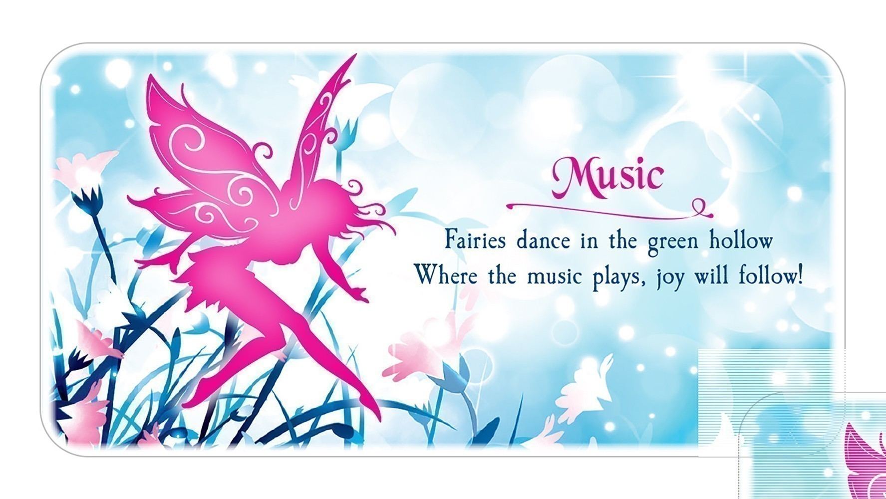 Fairy Dust Inspiration Cards