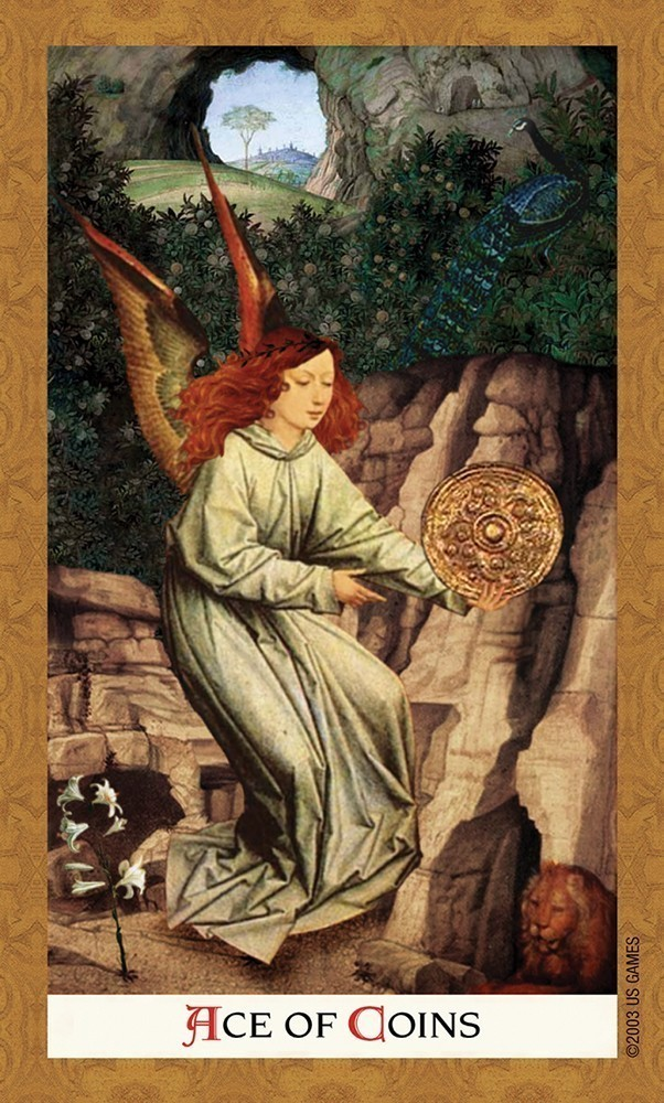 U S Games Systems Inc Gt Tarot Amp Inspiration Gt Golden Tarot