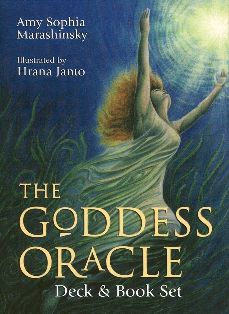 The Goddess Oracle Deck/Book Set