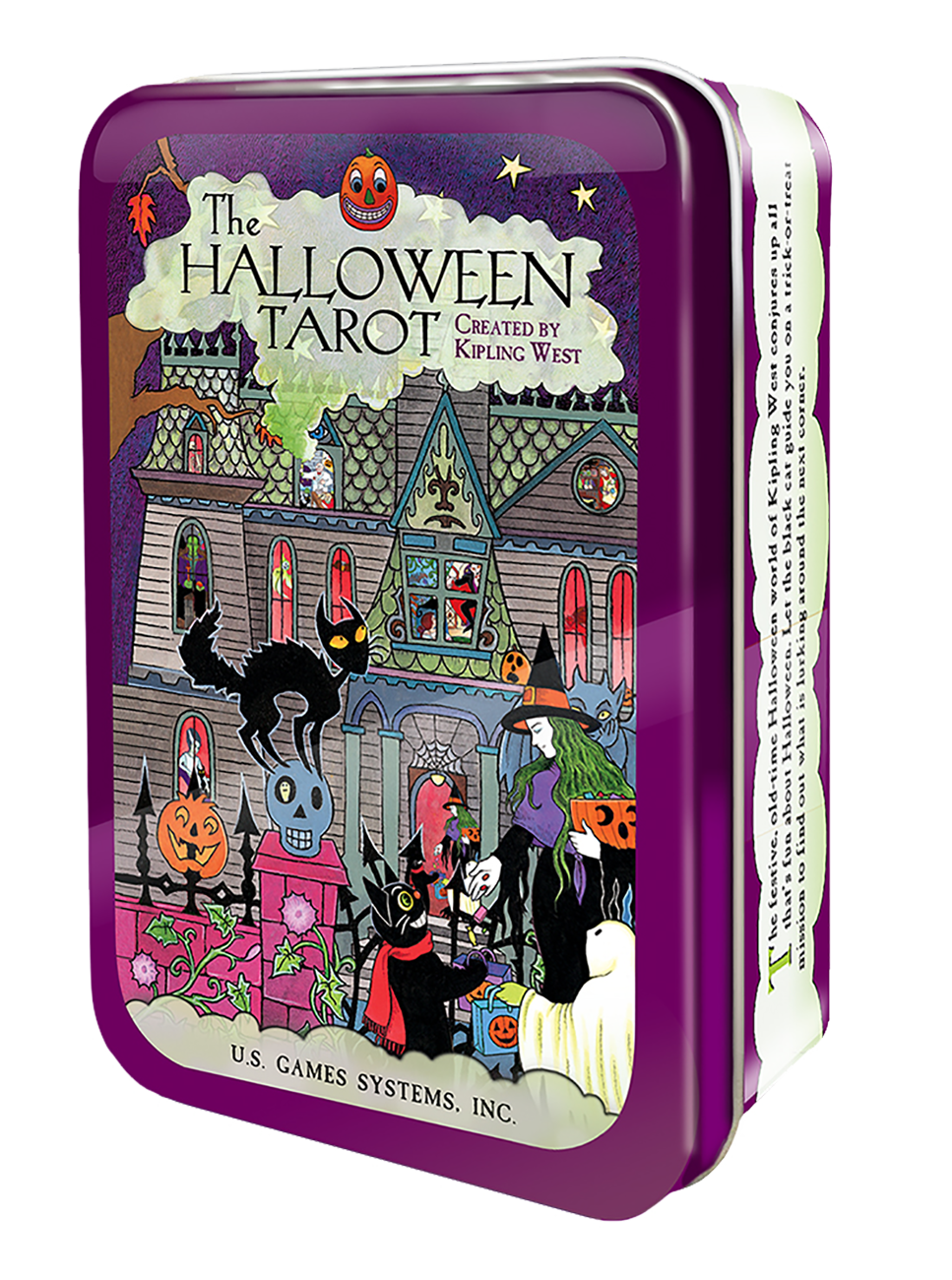 Halloween Tarot in a Tin
