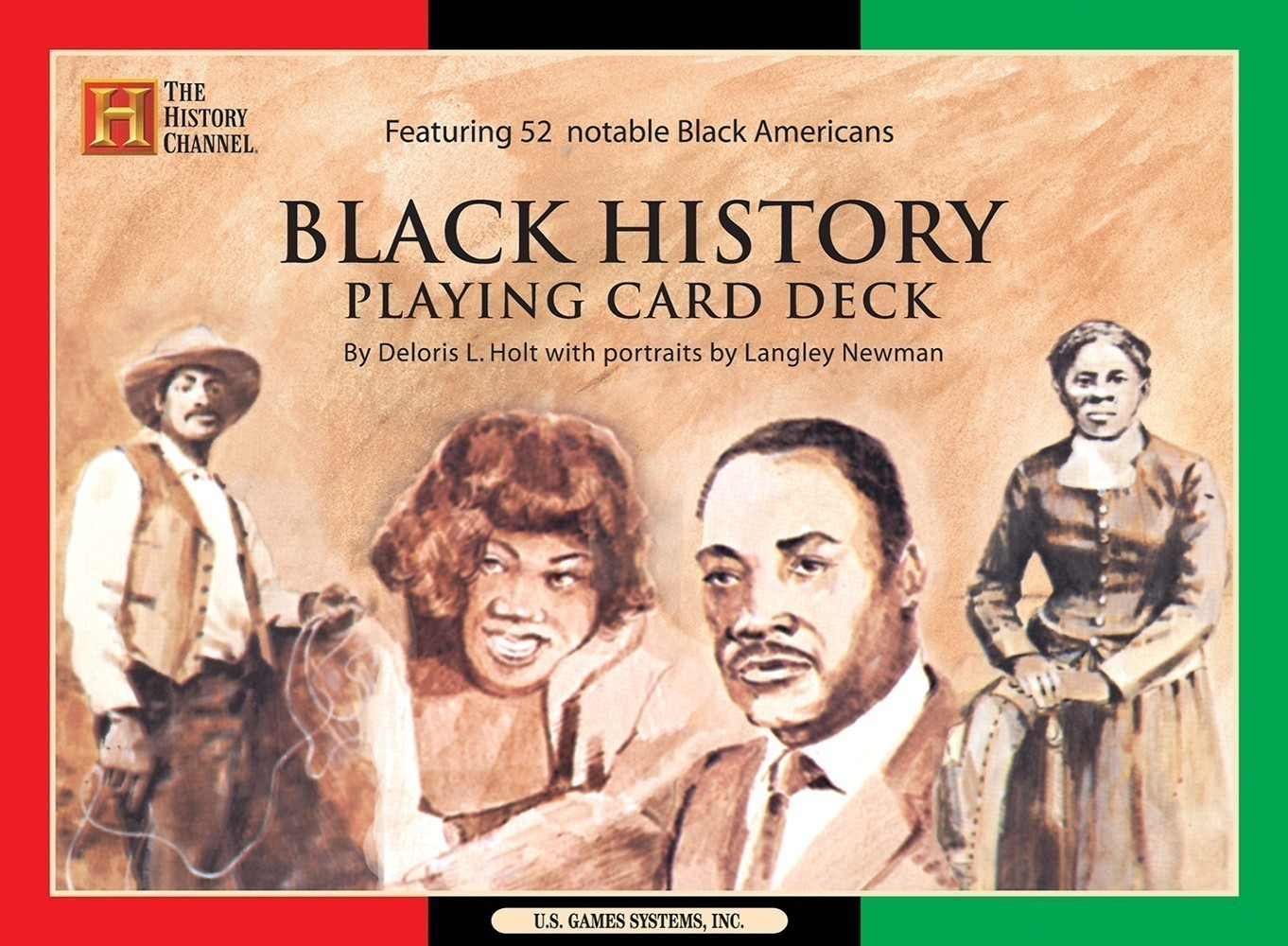 Black History Playing Card Deck