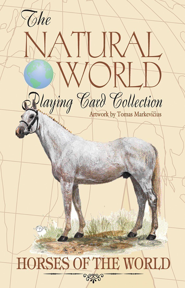 Horses of the Natural World Playing Cards