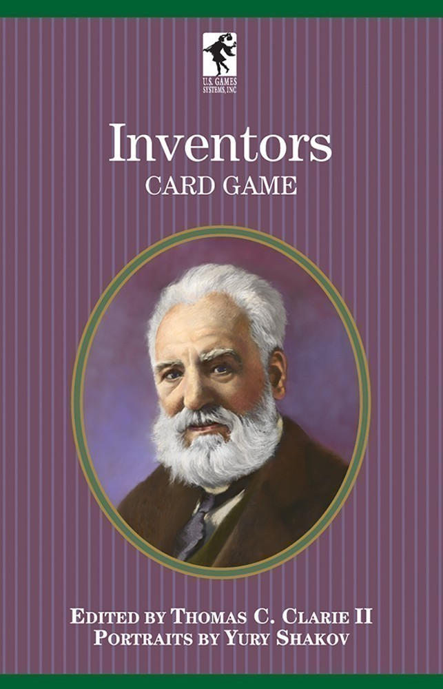 Inventors  Playing Cards of the Authors Series