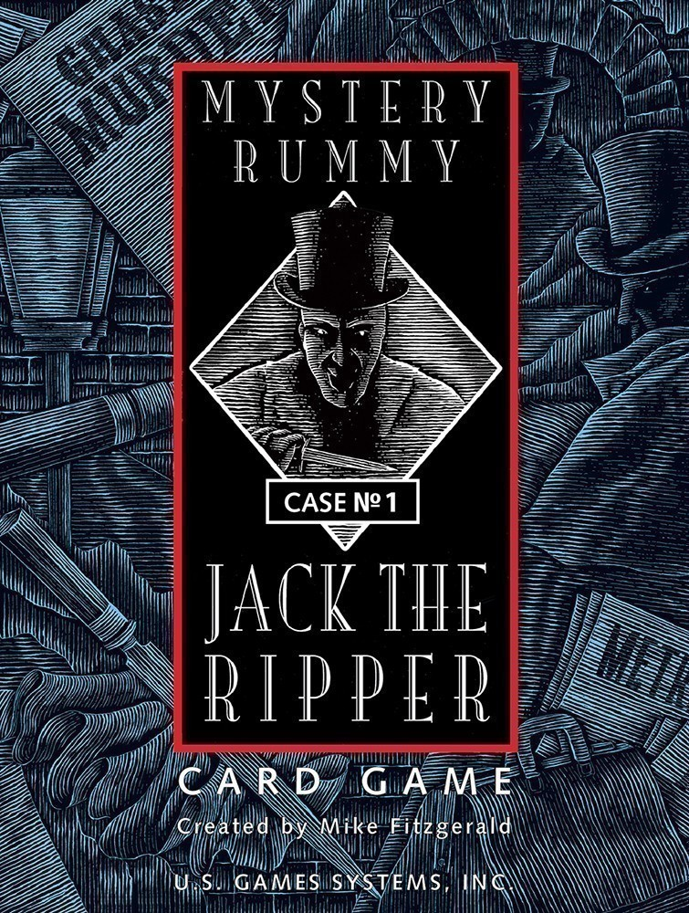 Mystery Rummy Case No. 1: Jack the Ripper Game
