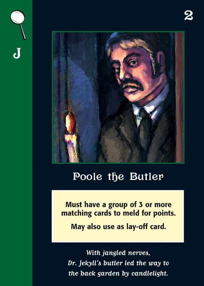 Mystery Rummy Case No. 3:  Jekyll & Hyde Game