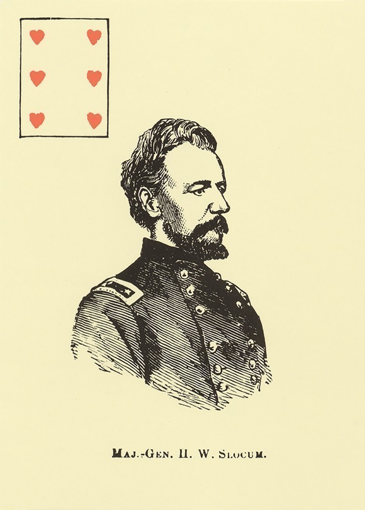 Union Generals Playing Card Deck