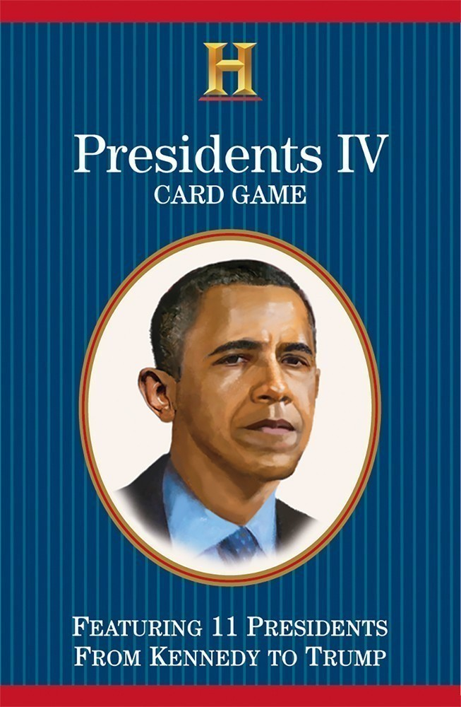 Presidents IV Card Game (Kennedy to Trump)