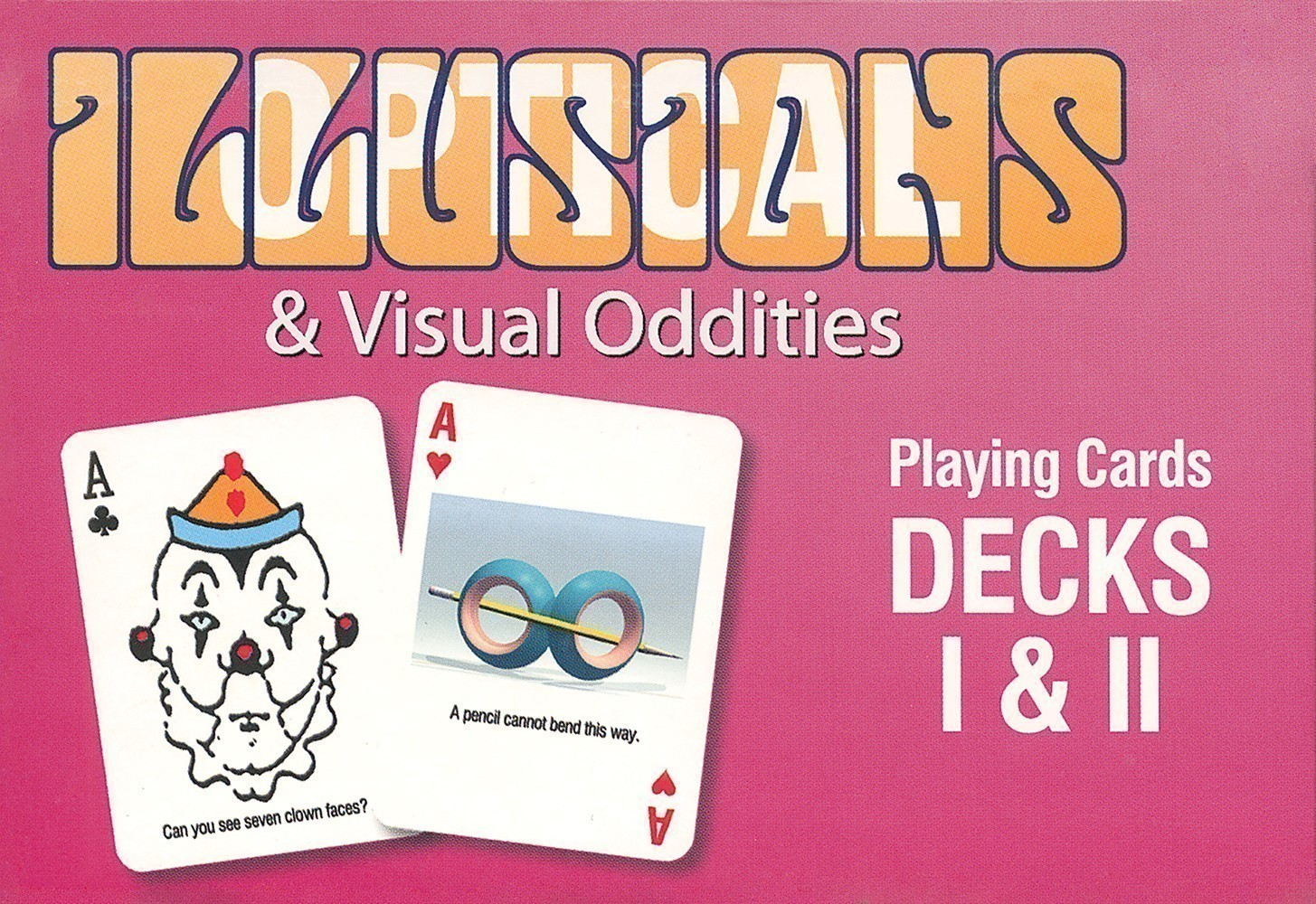 Optical Illusions & Visual Oddities Double Deck Set