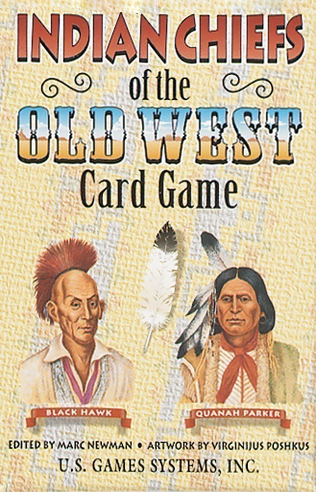 Indian Chiefs of the Old West Game & Playing Cards
