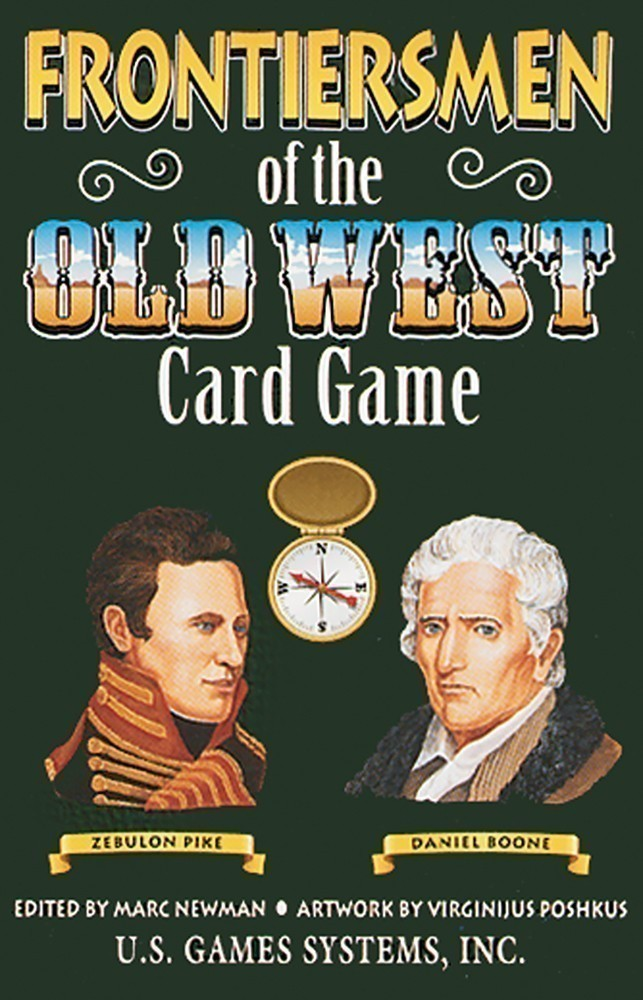Frontiersmen of the Old West Playing Card Game