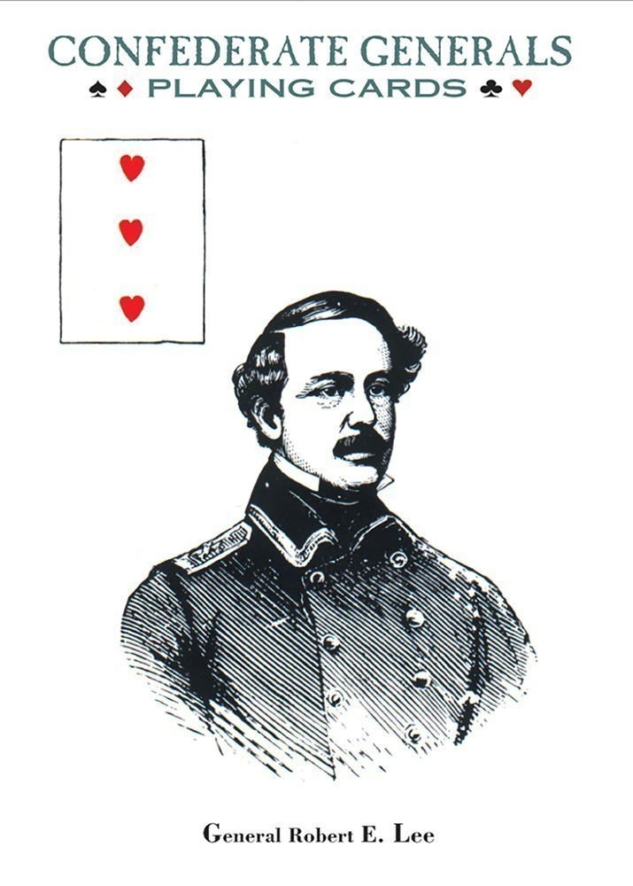 Confederate Generals Playing Card Deck