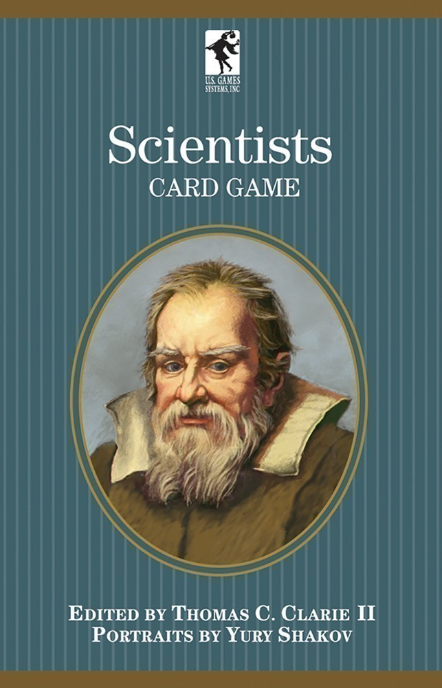 Scientists Card Games of the Authors Series