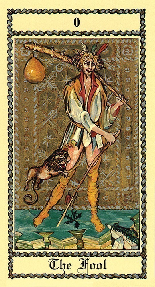 The Medieval Scapini Tarot Deck/Book Set
