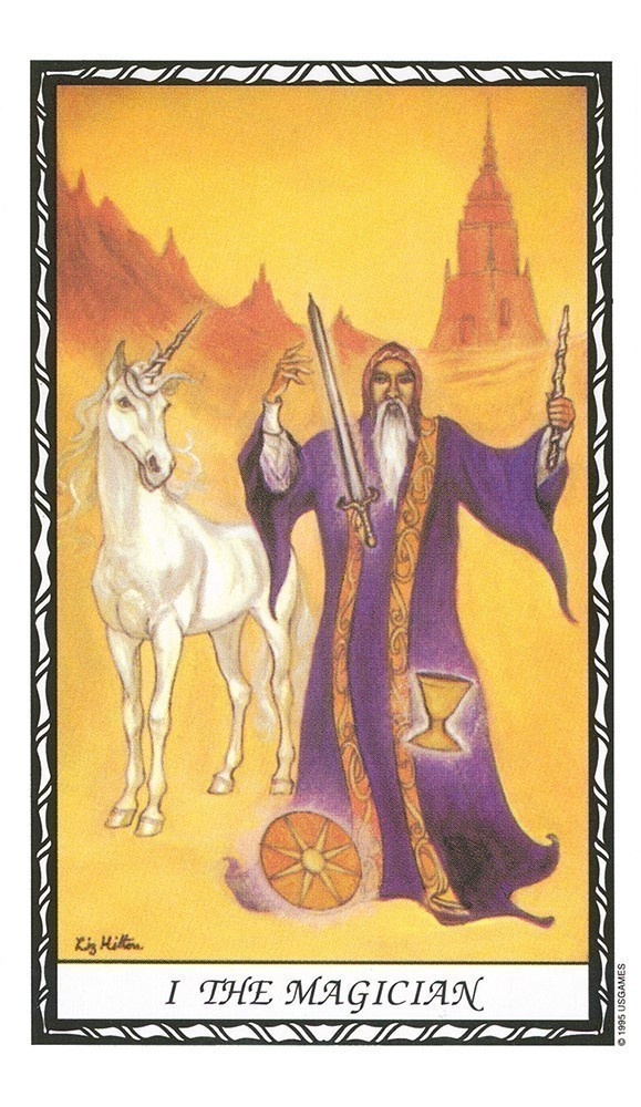 Unicorn Tarot Deck/Book Set