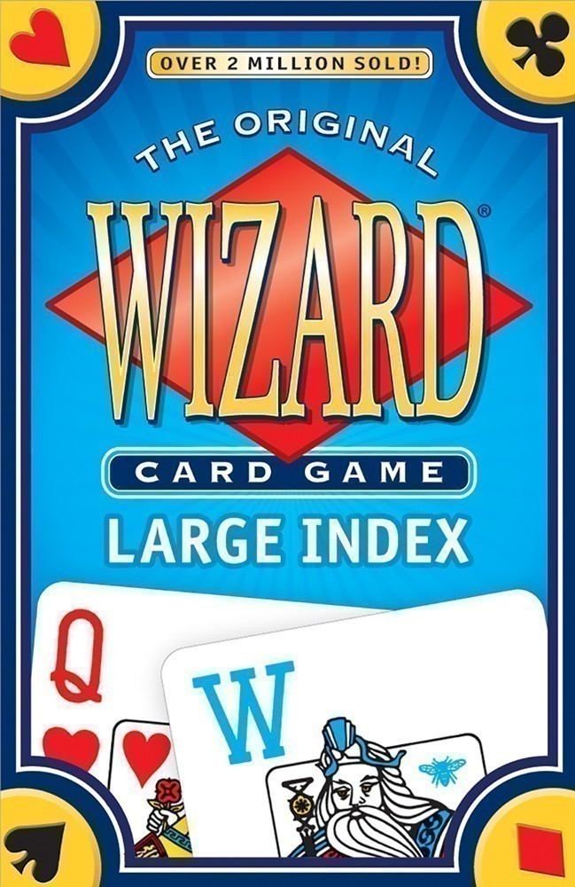 Wizard® Card Game Large Index