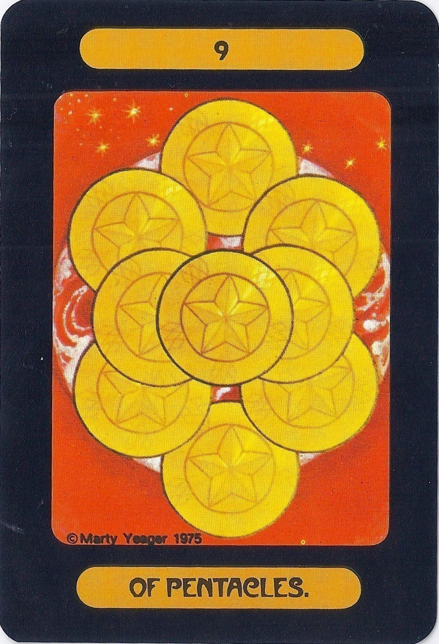 The Yeager Tarot Of Meditation