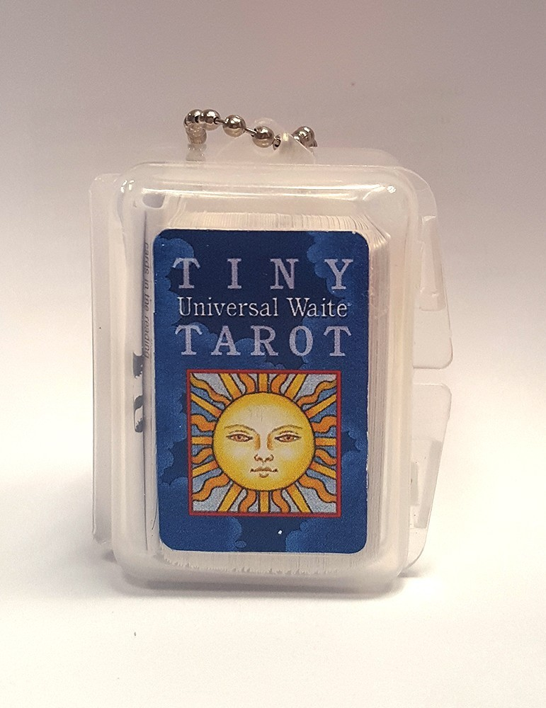 Tiny Tarot Key Chain
