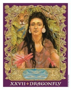 Sacred World Oracle Dragonfly