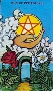 Morgan Greer Ace of Pentacles