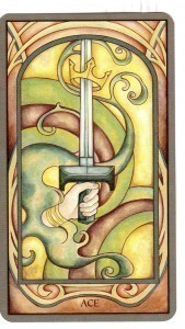 Fenestra Tarot Ace of Swords