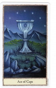 Hobbit Tarot Ace of Cups