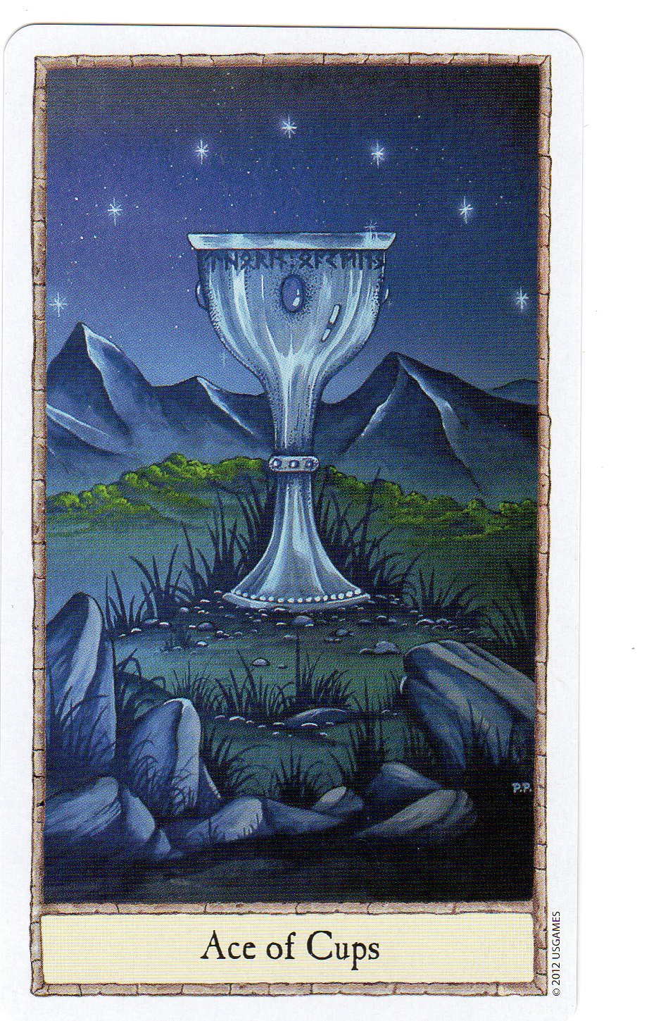 The Tarot Parlour Email Readings: Tarot Comparisons: Ace Of Cups