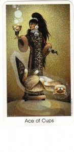 Tarot of the Cat People Ace of Cups