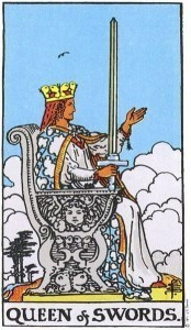 Rider Waite Smith Queen of Swords